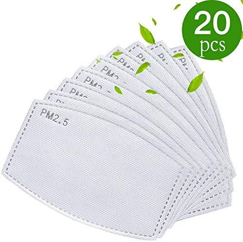 Filtro de carbón activo PM2.5 (5 capas, filtro intercambiable)