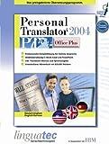 Personal Translator PT 2004 Office Plus Deutsch/Englisch -