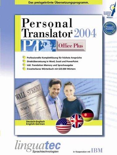 Personal Translator PT 2004 Office Plus Deutsch/Englisch