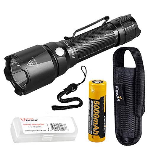 Fenix TK22 v2.0 Taktische Taschenlampe mit langem Brennweite, 1600 Lumen, mit Fenix 5000 mAh Akku und LumenTac-Batterie-Organizer