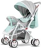 Baby carriage Hot Mom Pushchair • Regenhülle enthalten • Leichte Kinderwagen • Buggy