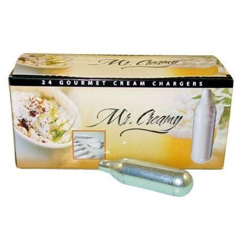 BestWhip Mr. Creamy N2O Whipped Cream Charger, 24 Count
