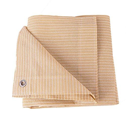 NAN Sun Shade Sail - Protection Solaire | Tissu HDPE/Oxford de Haute qualité | Classe de Protection UV la Plus élevée UPF 50+ | Coins renforcés Voiles d'ombrage (Taille : 6×6M)