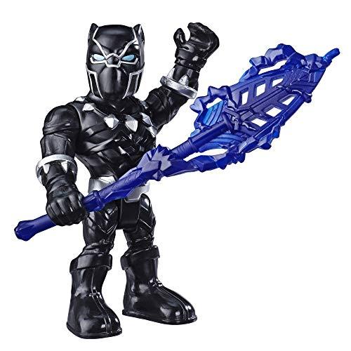 Super Hero Adventures Mega Mini Black Panther Action Figure