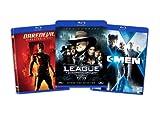 Blu-ray Comic Book Hero Bundle (Daredevil (Director's Cut) / League of Extraordinary Gentlemen / X-Men) (Amazon.com Exclusive)