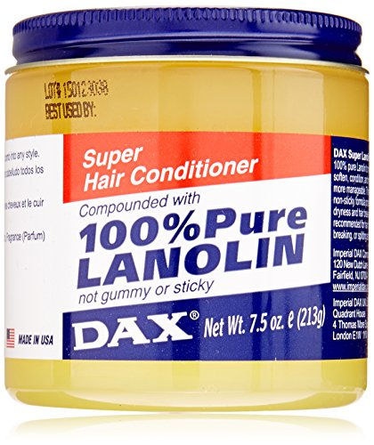 Dax Super Lanolin Hair Conditioner, 7.5 Ounce