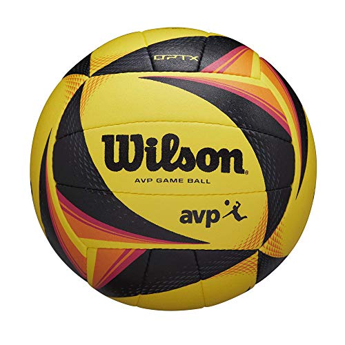 Wilson OPTX AVP Official Volleyball, Yellow (WTH00020ID)