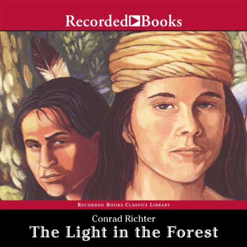 The Light in the Forest audiobook cover art