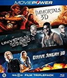 3D Action Collection ( Immortals / Universal Soldier: Day of Reckoning / Drive Angry ) (3D) [ Origen Holandés, Ningun Idioma Espanol ] (Blu-Ray)