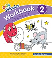 Jolly Phonics Workbook 2 in Print Letters