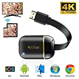 WiFi Display Dongle, FayTun 4K Wireless HDMI Display Adapter, Upgraded 5G Wireless Display Receiver, iPhone Ipad Mac iOS Android Windows Miracast Dongle for TV Projector, Support DLNA Airplay Miracast
