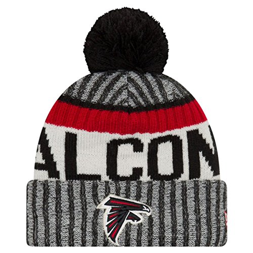 New era Atlanta Falcons Beanie NFL Sideline 2017 Black One Size
