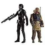 Hasbro - Star Wars Pack Deluxe 2 Figurines Rebel Commando Pao & Death Trooper