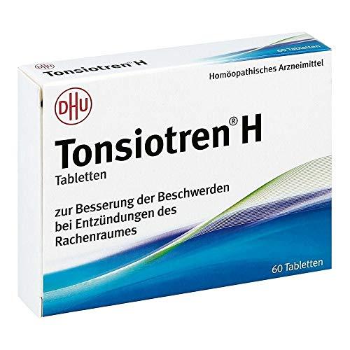 Tonsiotren H Tabletten, 60 St. Tabletten
