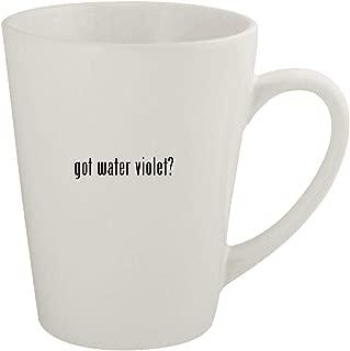 got water violet? - Ceramic 12oz Latte Coffee Mug