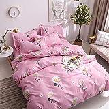 ZMYU Bedding Sets - Juego de ropa de cama de microfibra (200 x 200 cm), Luna Flor Show, 200 × 200cm