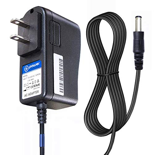 T POWER 12v Charger Compatible for RCA , Pyle , DBPOWER , Sylvania, Synagy, Apeman, Craig, COOAU, Dynex, Impecca, Magnavox , UEME Portable Dvd Player Ac Adapter Power Supply