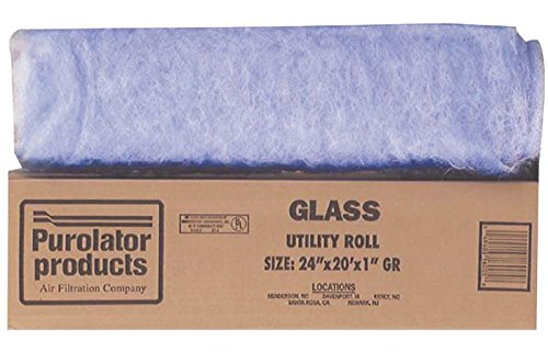 Protect Plus Industries Filter HVAC Roll 24X240X1In G24201
