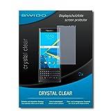 2 x SWIDO® Protector de pantalla BlackBerry Priv Protectores de pantalla de película...