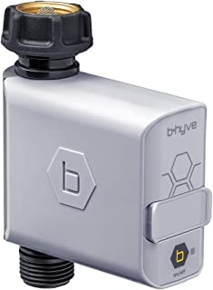 Orbit B-hyve 21005 Bluetooth Hose Faucet Timer, Also Works as Extra Valve for 21004 Timer with Wi-Fi Hub