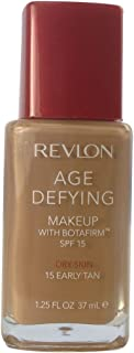 Revlon Age Defying Makeup for Dry Skin, Early Tan (15)