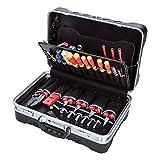 Bernstein Service-Koffer Security mit 64 Werkzeugen 6750