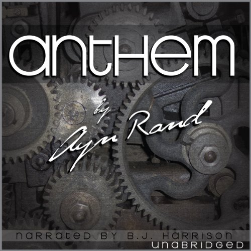 Ayn Rand Book Cover Art : Anthem audiobook by ayn rand audible