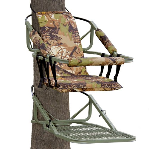 Best Choice Products Tree Stand Climber Climbing Hunting Deer Bow Game Hunt Portable W/Harness