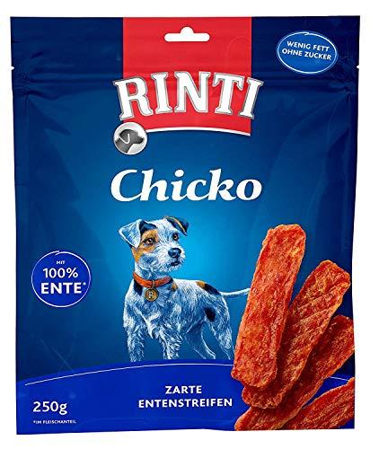 Rinti Hundesnacks Extra Chicko Ente 250 g, 3er Pack (3 x 250 g)