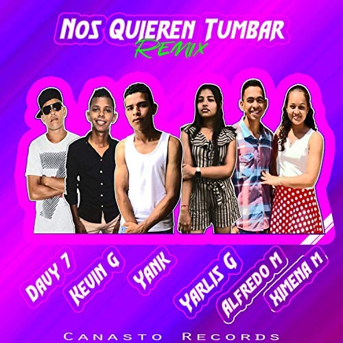 The Yank feat. Davy 7, Kevin G, Yarlis G, Alfredo M & Ximena M