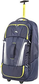 High Sierra Composite V3 Upright Wheeled Duffle 74Cm Navy-Yellow - in Navy
