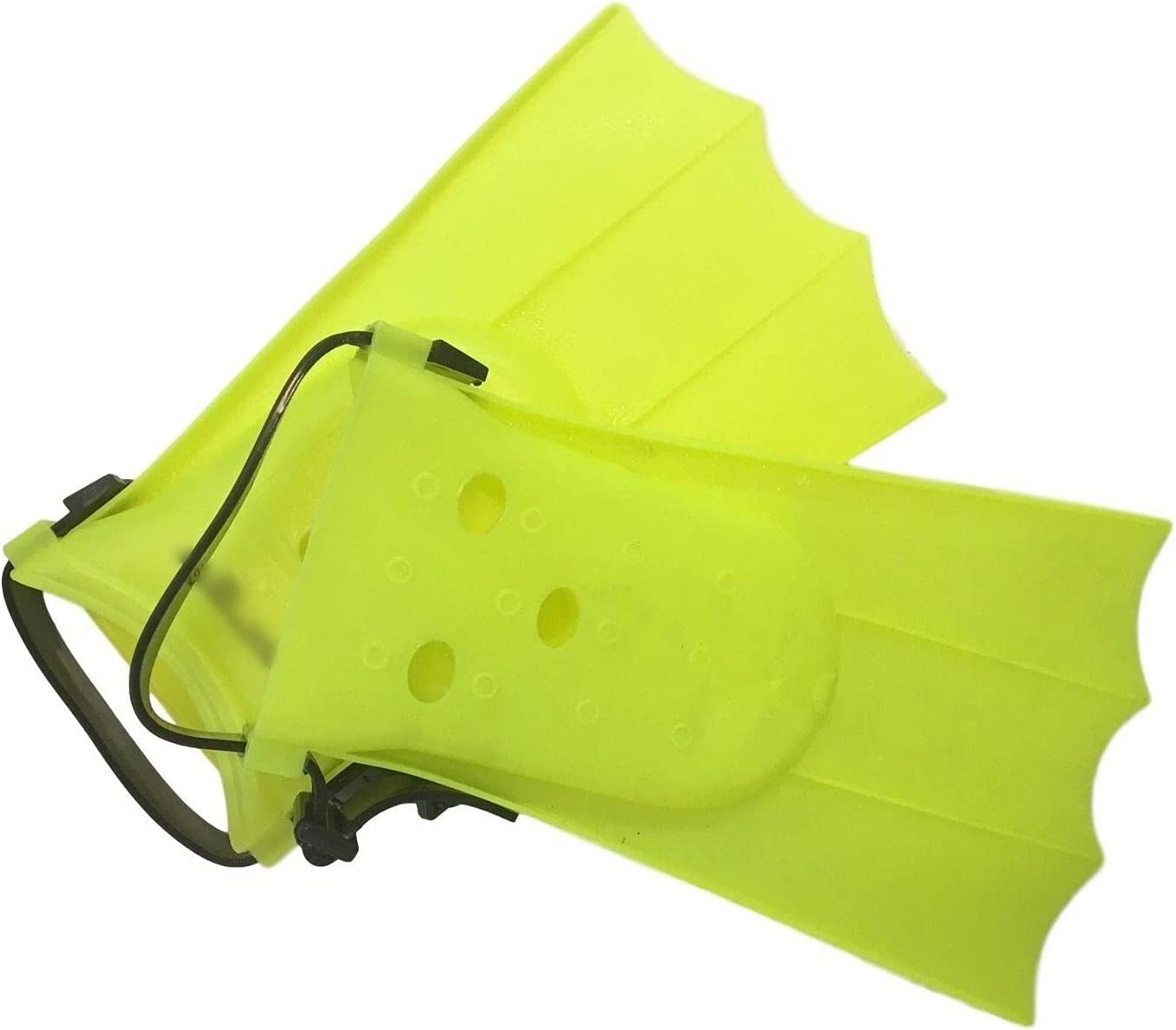 Ministry of Warehouse Guppy Fins Flippers Soft Adjustable, Yello