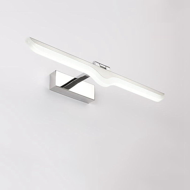 HMer LED Spiegelleuchte Schranklampe Schrankleuchte Spiegelscheinwerfer Badezimmer wasserdicht Wandleuchte Badezimmer Spiegelleuchte (weies Licht) 52CM 12W