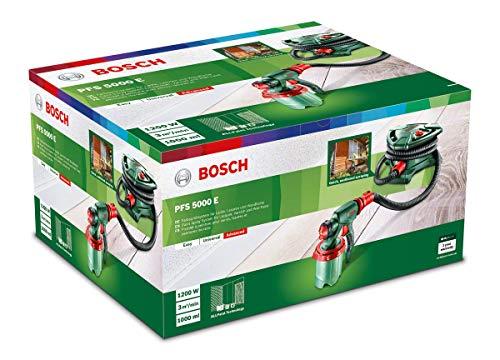 Bosch elektrisches Farbsprühsystem PFS 5000 E (für Lack/ Lasur/ Wandfarbe, im Karton)