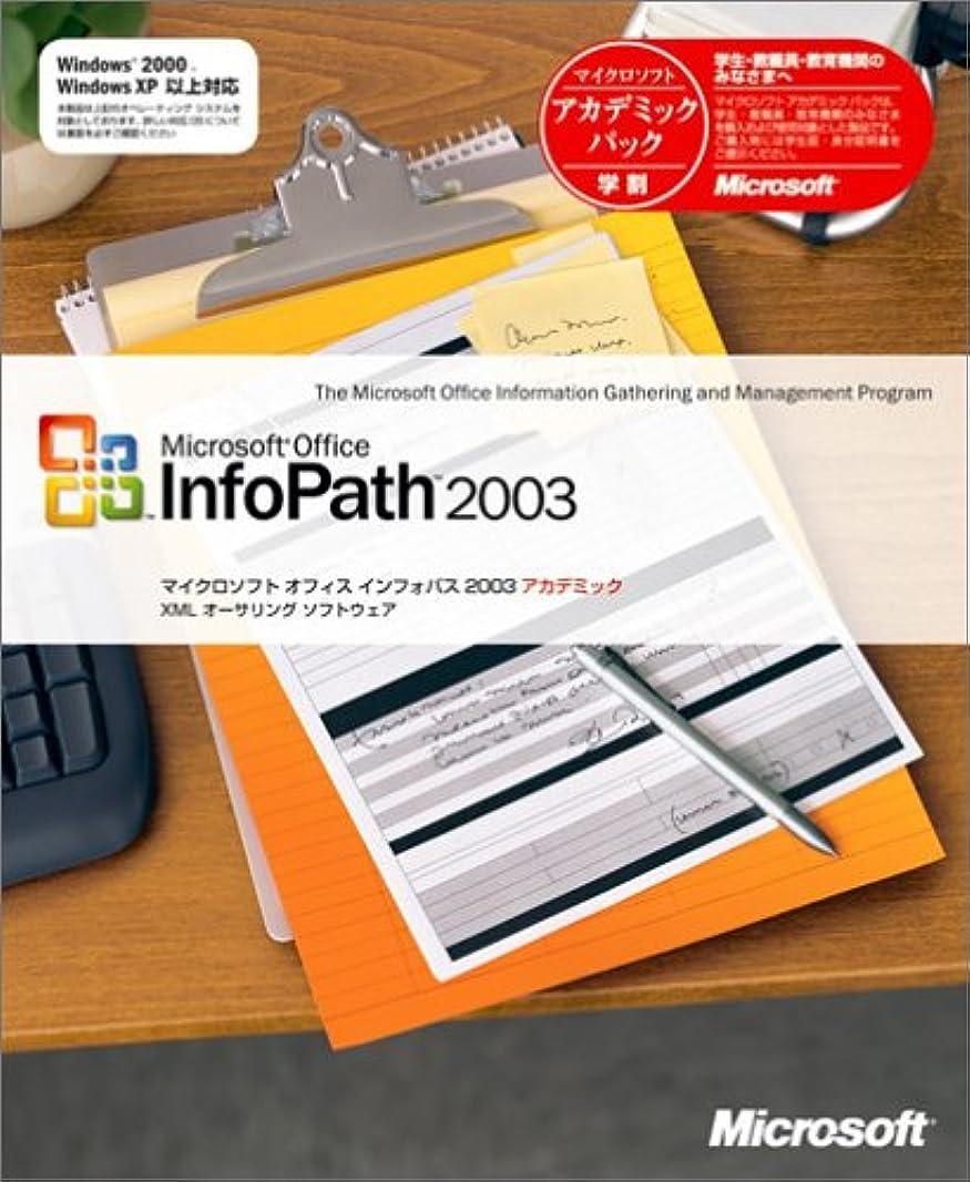 ご予約スキーエイズInfoPath 2003 アカデミック版