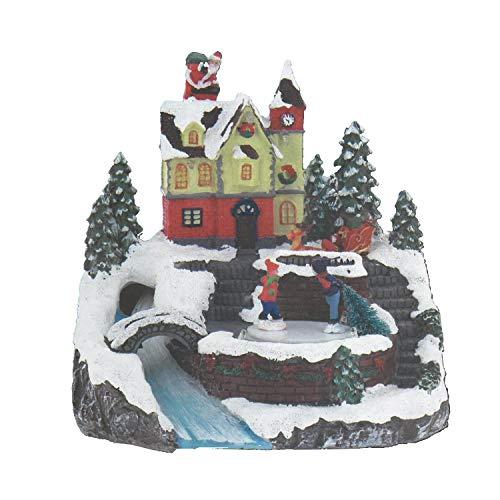 Village de Noel Lumineux - Modèle 4