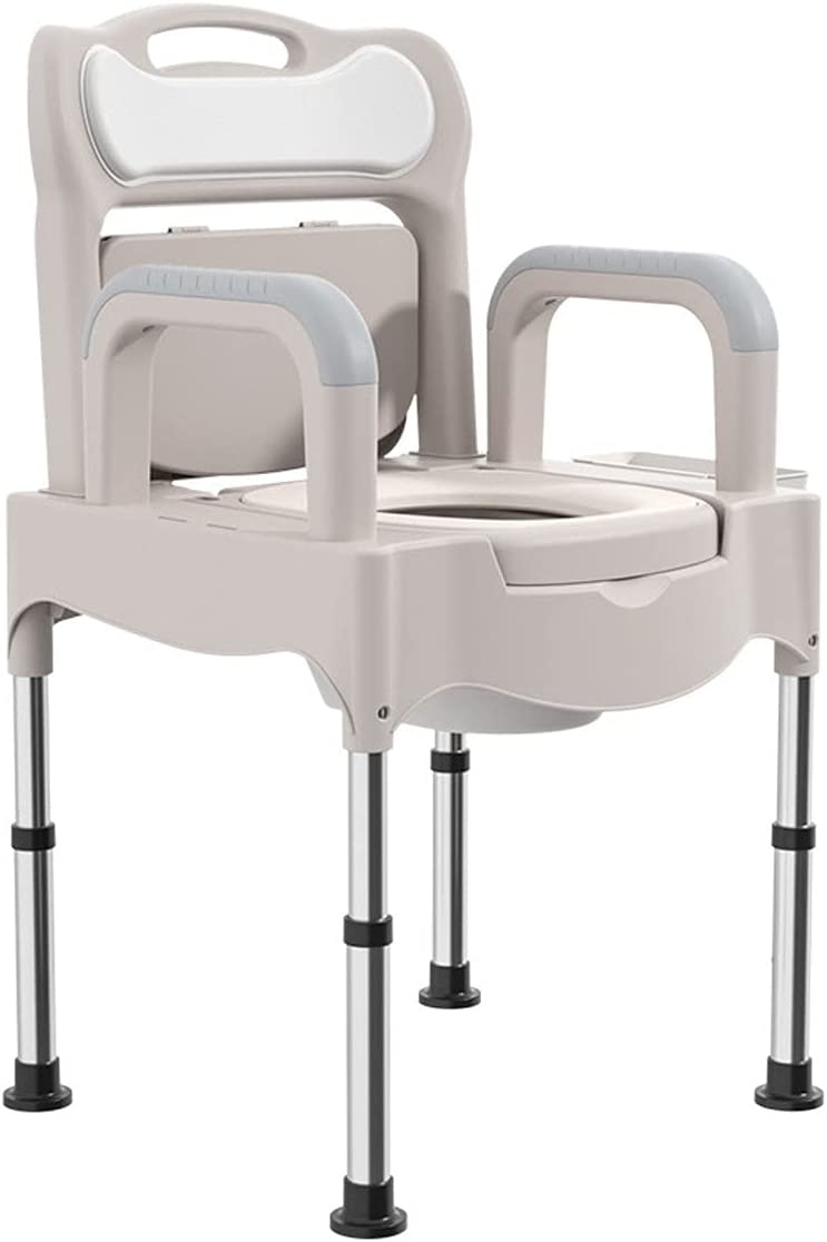 ZQYYUNDING Sales for sale Shower Chair Louisville-Jefferson County Mall Adjustable Portable Stool Toilet