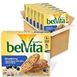 Belvita Blueberry Breakfast Biscuits, 6 Boxes of 5 Packs (4 Biscuits Per Pack)