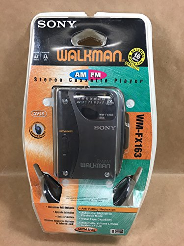 Sony Corporation Sony FM/AM Walkman #WM-FX163 Radio Cassette Player (Sony Walkman Model# WM-FX163)
