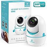 HeimVision ネットワークWIFIカメラ 300万画素 ペット監視カメラ 子供/ペット/老人見守り 動体検知自動追跡 暗視機能 スマホ通知 双方向音声 安全対策WIFI/LAN-ケーブル対応 技適認証済み 日本仕様