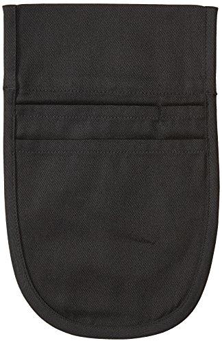 Uncommon Threads Unisex Pouch Apron for Restaurant and Work Uniform, Black