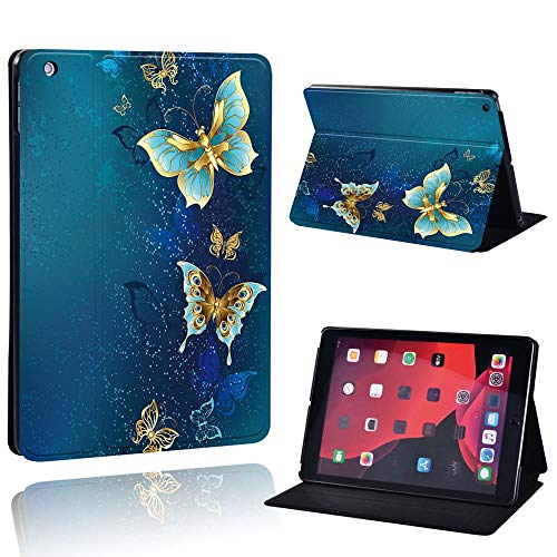 MENGYI Cubierta de la Caja de la Tableta Funda de Cuero Delgada para Ap iPad mini1 / 2/3/4/5 / ipad2 / 3/4 / iPad (5/6/7th Gen) / Air / Air2 / Air3 / Pro/Pro (1st / 2nd Gen) + Stylus