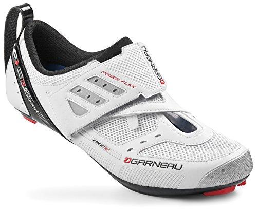 Louis Garneau 2015 Tri X-Speed II Cycling Shoes White-46