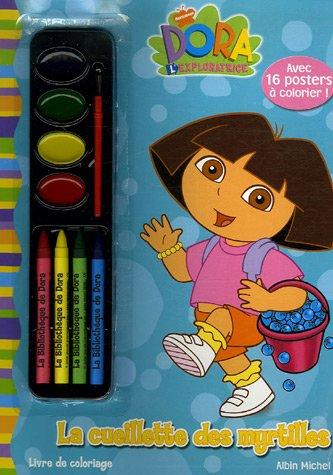 La cueillette des myrtilles : Livre de coloriage (Dora l'exploratrice)