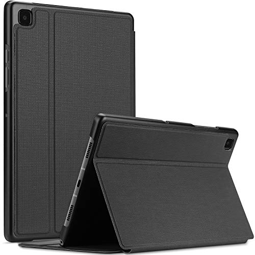 ProCase for Samsung Galaxy Tab A7 10.4' 2020 Case (SM-T500/ T505/ T507), Shockproof Lightweight Slim Protective Book Case Folio Cover – Black