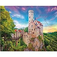 大人のためのパズル大人のための2000ピースパズル–(バーデン-リヒテンシュタイン城、ドイツ)風景スタイルのジグソーパズルゲームおもちゃギフト70X100cm(27.55X39.37inch)