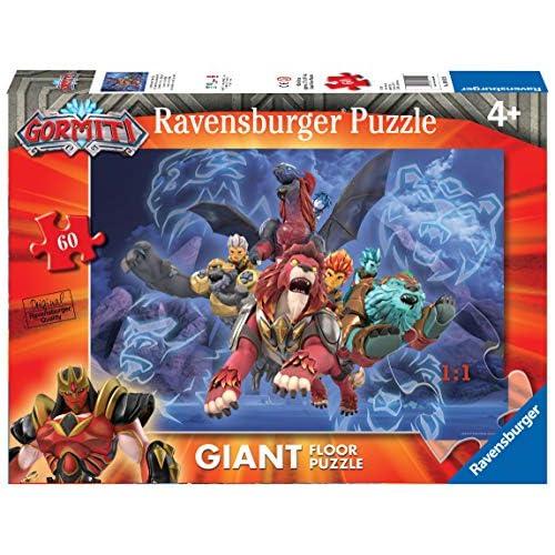 Ravensburger- Gormiti B Puzzle per Bambini, Multicolore, 60 Pezzi, 03012