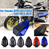AHOLAA Motorcycle Seat Back Cover ABS Rear Pillion Passenger Seat Cowl Fairing Part Fit for Yamaha FZ-07 MT-07 2013-2018,MT 07 FZ 07 MT07 FZ07 Rear Seat Fairing (Carbon fiber look)