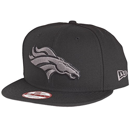 New Era 9Fifty Snapback Cap - Denver Broncos schwarz / grau