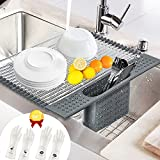 Roll up Dish Drying Rack Multipurpose Over...